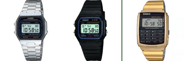 Style de montre - Casio