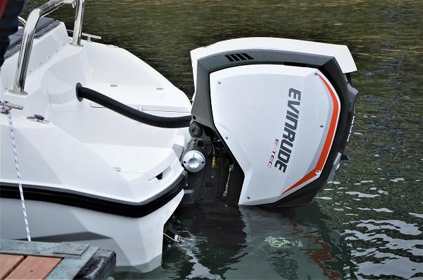 Moteur de bateau Evinrude 2 temps