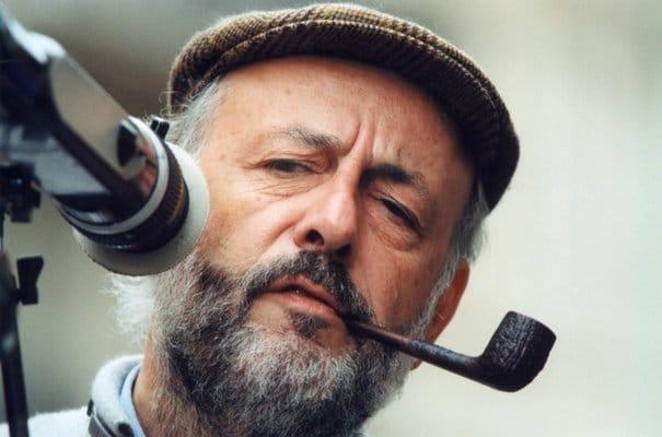 Bertrand Blier et sa pipe