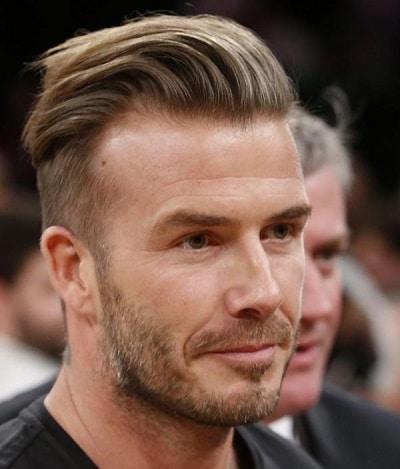 david beckham cheveux