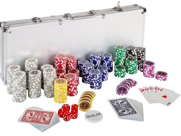 Mallette professionnelle de poker