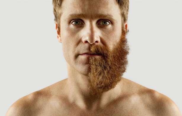 Nettoyer sa barbe en la taillant à la tondeuse