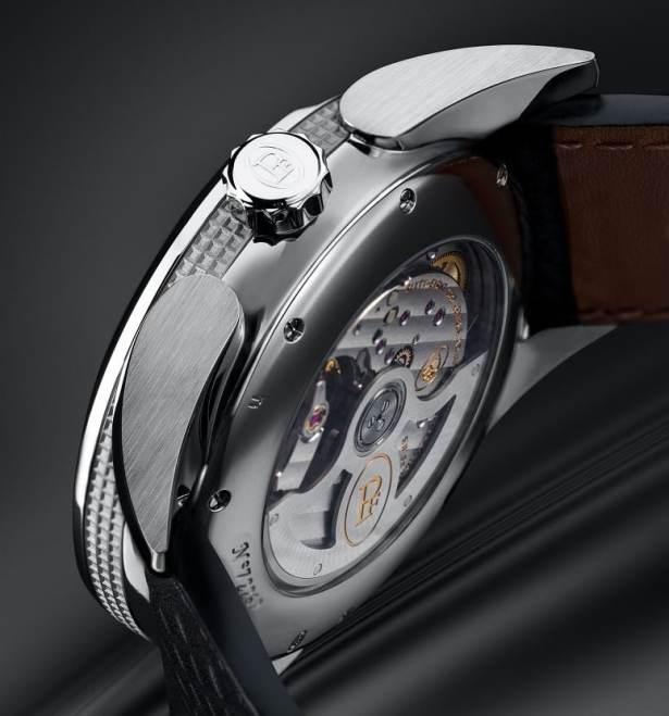 Montre Bugatti Aérolithe Performance par Parmigiani Fleurier / Mouvement : PF335 (automatique)