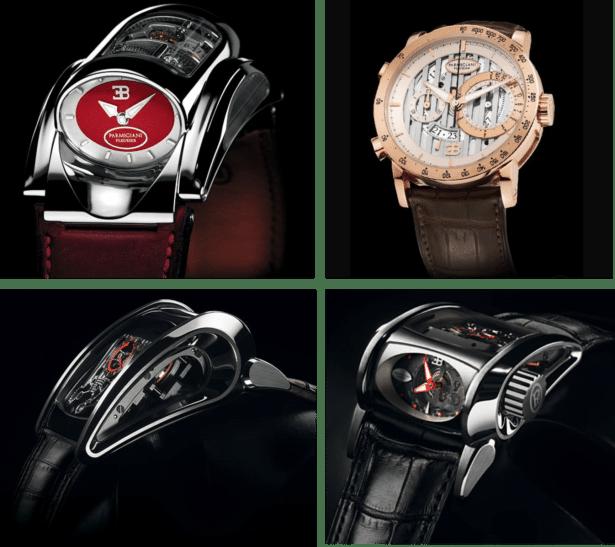 Montre Bugatti type 370, Bugatti Atalante et la montre Bugatti Super Sport