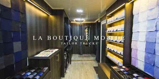 Concevoir son costume, veste ou chemise sur-mesure en bas de chez soi avec Tailor Trucks