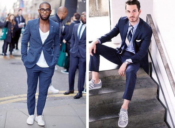 Style chic en sneakers