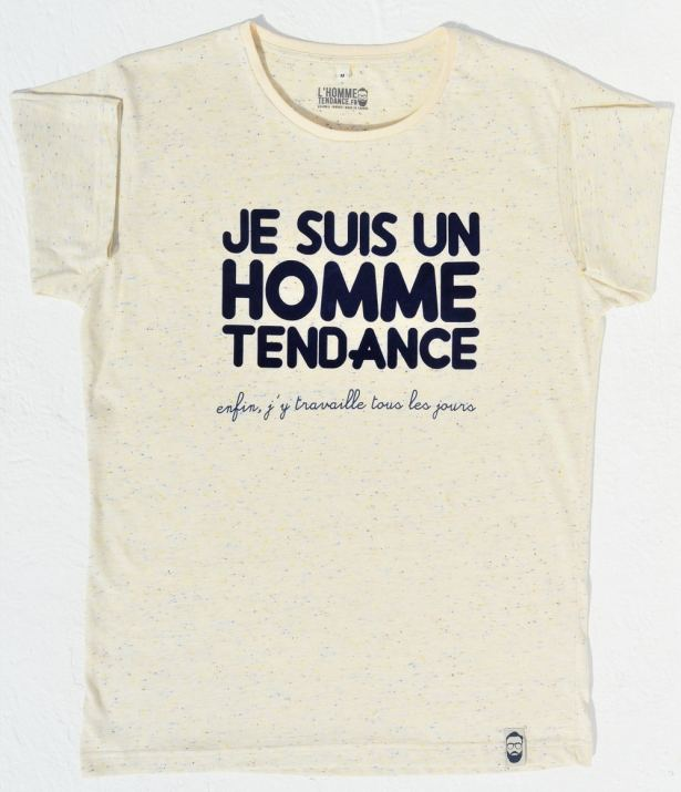 T-shirt L'Homme Tendance collection capsule