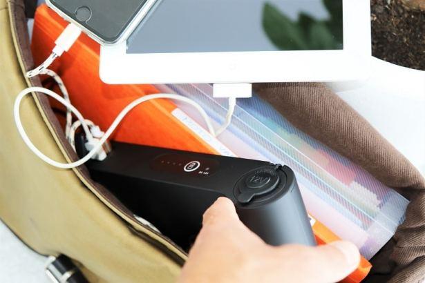La station de charge USB à emporter pour être serein même en mobilité