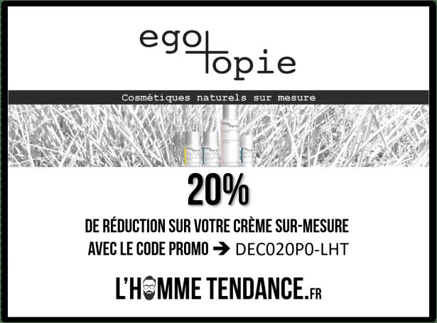 20% de réduction avec le code promo dédié L'Hommetendance.fr - Profitez-en vite !!!