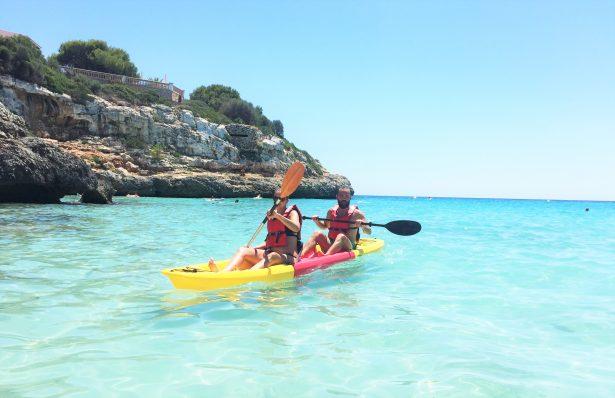 Test du kayak modulable Apollo Snap à Majorque