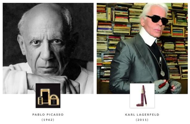 Pablo Picasso et Karl Lagerfeld sous le signe de S.T Dupont