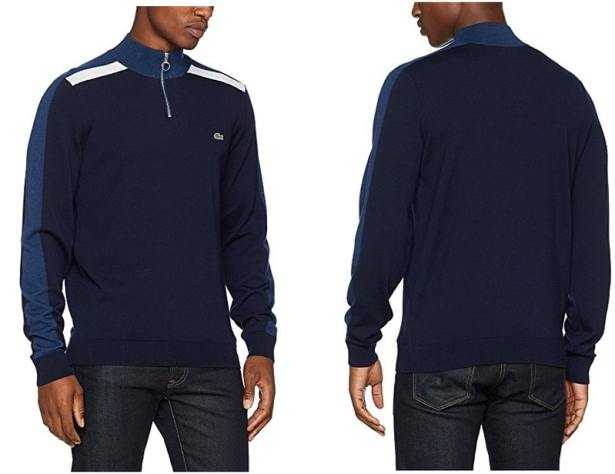 Pull Lacoste Col Camionneur