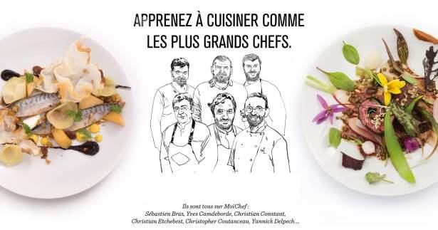 Apprenez à cuisiner comme les grands chefs !