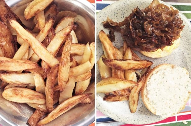 Un Burger fait maison avec les meilleurs ingrédients sélectionnés par Frichti