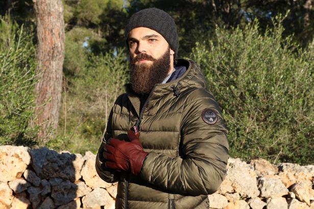 Gants Stetson homme 89€ cuir et doublure coton : Prêt pour affronter la forêt :)