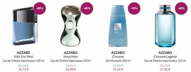 Parfums AZZARO en promotion