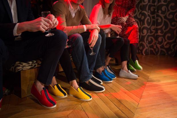 Les chaussons, la nouvelle tendance mode
