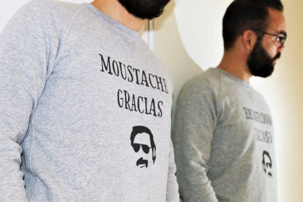 Moustache Gracias Senor ! by T-shirt Corner