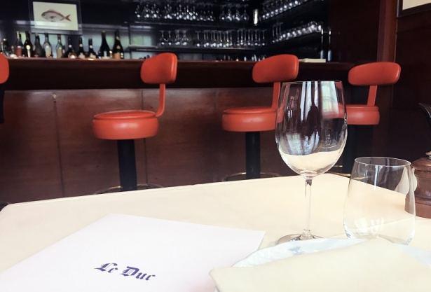 Restaurant Le Duc Paris - restaurant de poisson