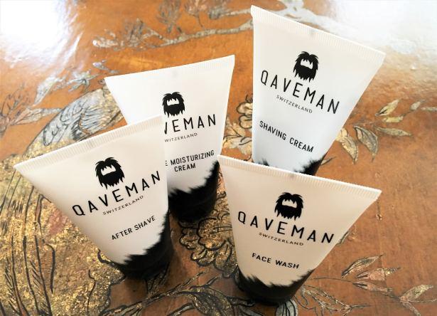 Soins visage et barbe Qaveman pour hommes tendances