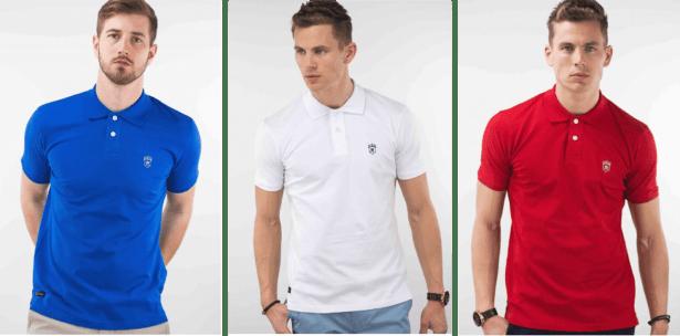 Polo manche courte disponible en 10 couleurs homme et femme