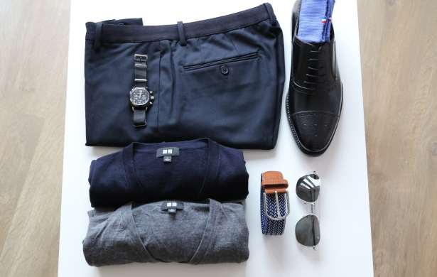 Outfitgrid Uniqlo + accessoires pour un look back to work tendance
