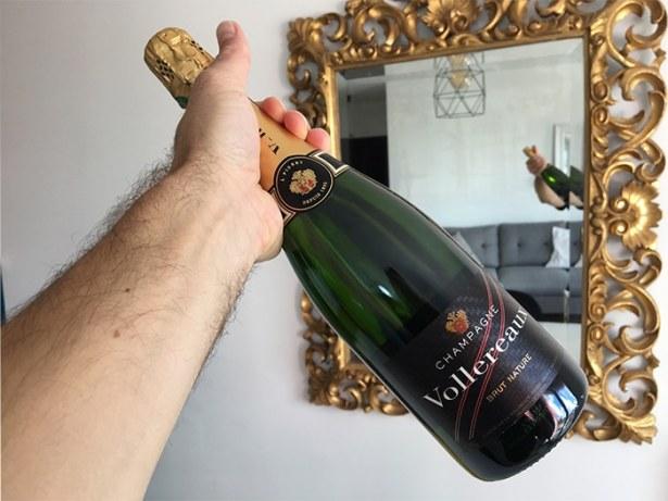 champagne brut Nature Vollereaux