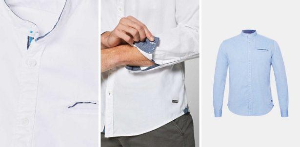 chemise-homme-col-mao-esprit