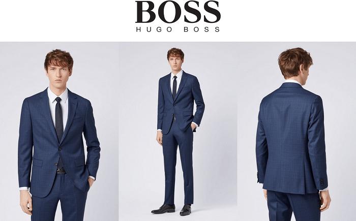 Hugo Boss, Costumes de qualité pour homme