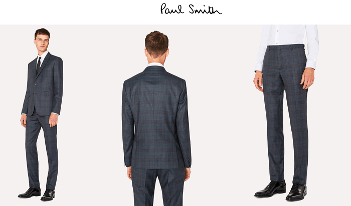 Paul Smith - Costumes de qualité