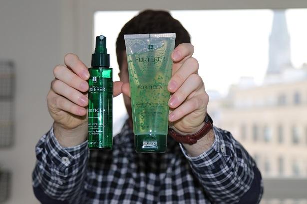 La gamme Forticea comprend le shampoing et le spray