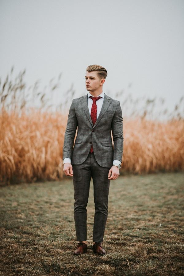 Veste de costume sur mesure homme