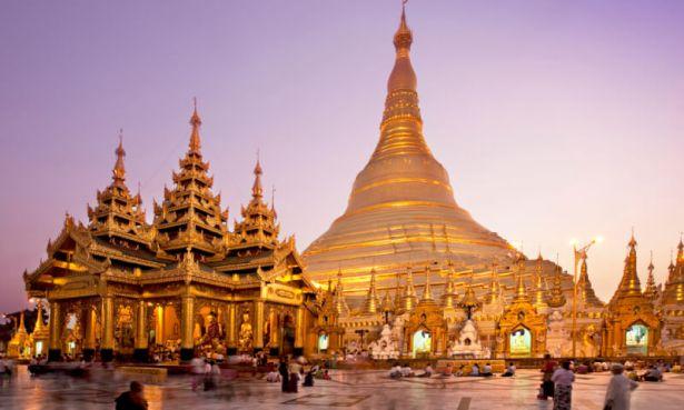 Pagode Shwedagon, Yangon, Birmanie