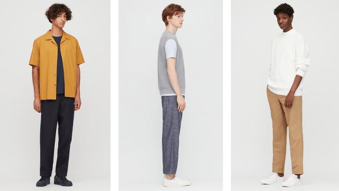 Pantalon en lin homme - Uniqlo - 39.90€