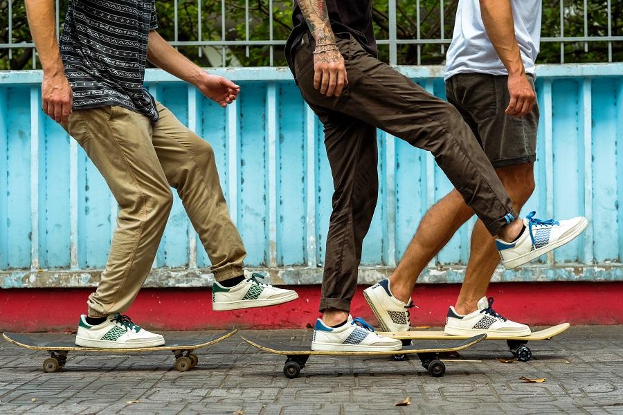 Sneakers N'go Shoes Baskets en cuir éthique