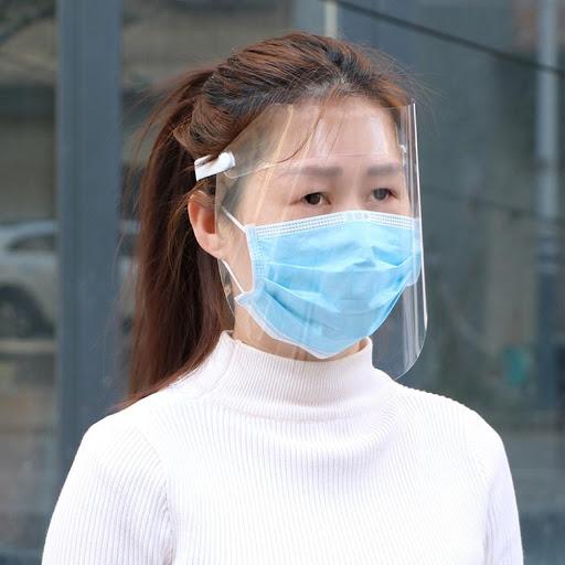 visière de protection virus + masque