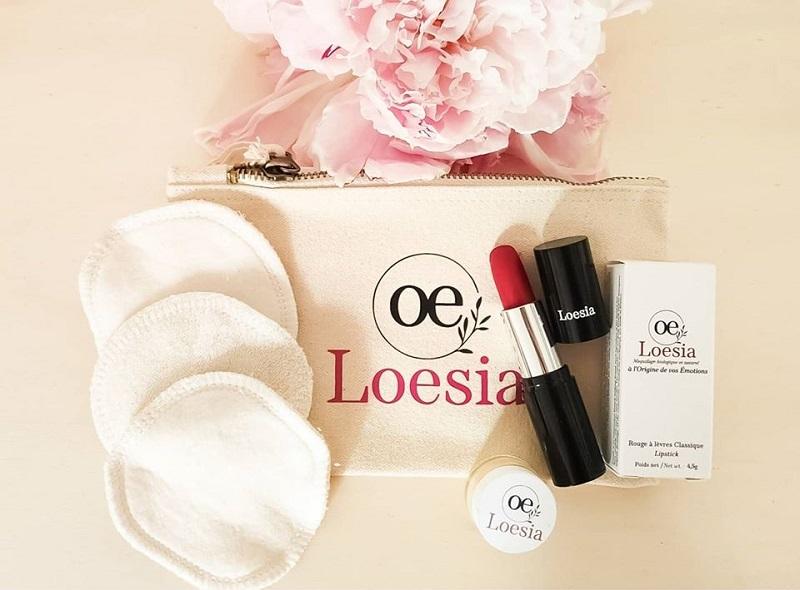 Loesia, des rouges à lèvres 100% Made in France qui respectent la peau et l'environnement