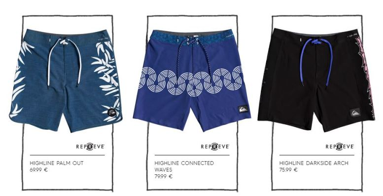 Les boardshorts eco-friendly de l'été de Quicksilver