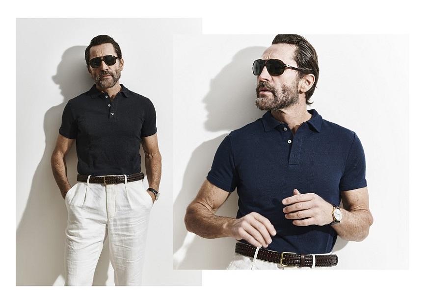 Polo en lin pour homme tendance - 100€