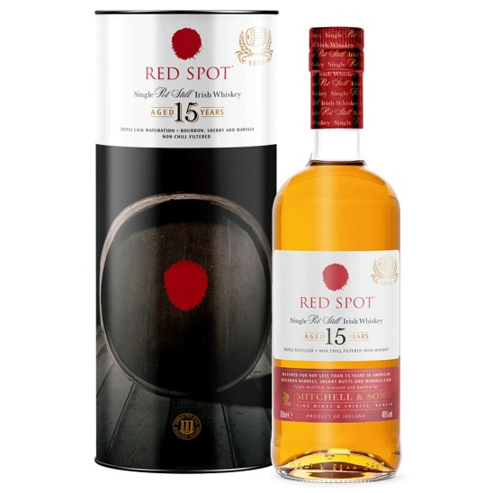 WHISKEY RED SPOT 15 ans