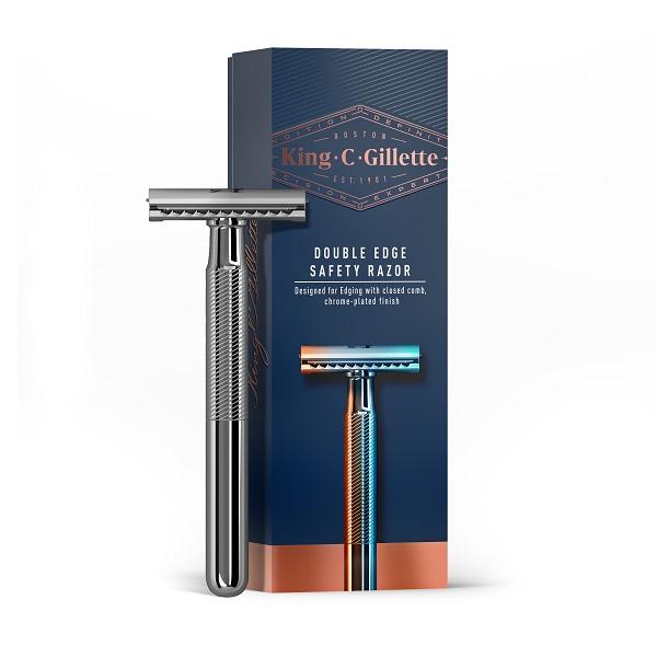 asoir de sûreté double edge King.C.Gillette