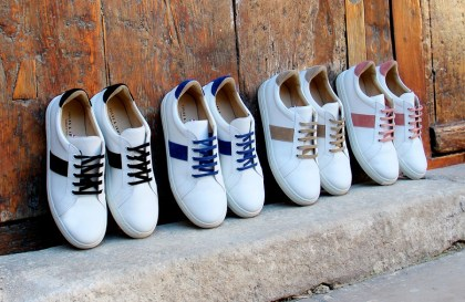 Chaussures sneakers made in France Jules et Jenn