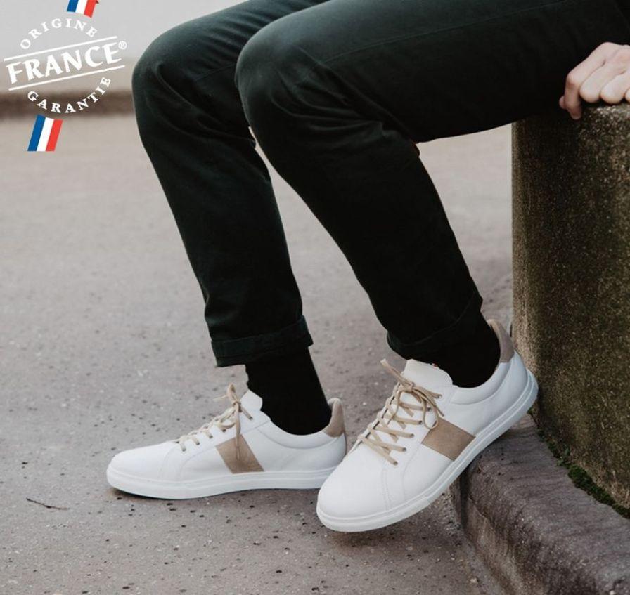 "Sneakers ""Origine France Garantie"" par Jules & Jenn"