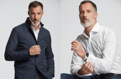 Wolbe marque de mode homme, chemise respirante