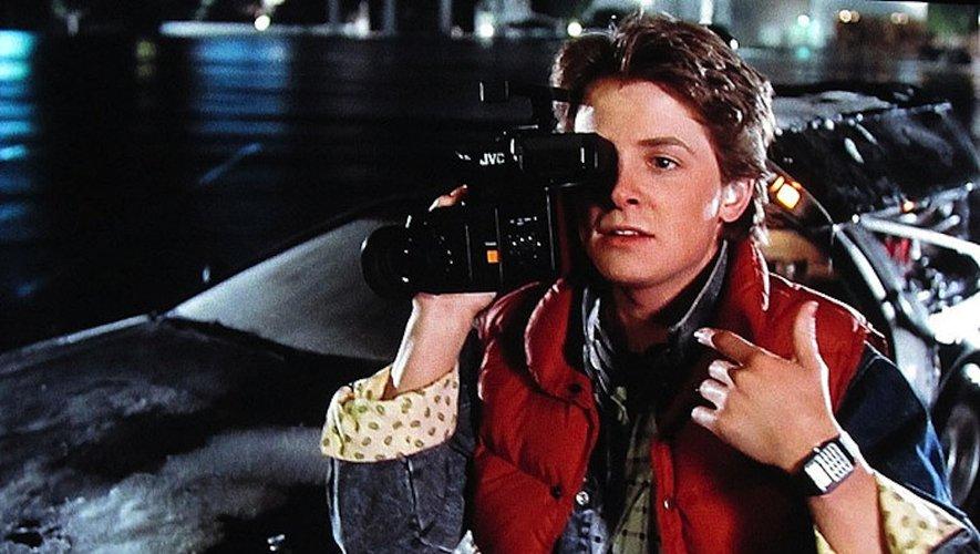 Montre calculatrice CASIO et Michael J Fox dans Retour vers le Futur