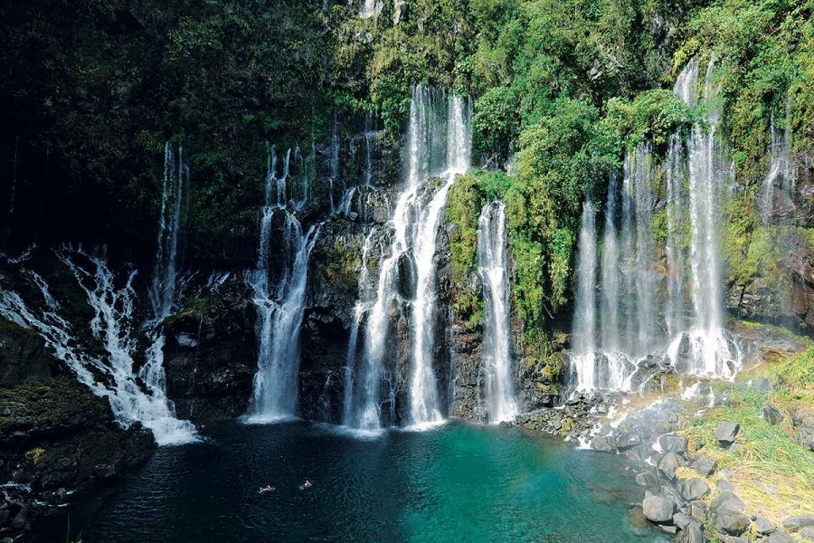 Cascade Grand Galet - La Réunion