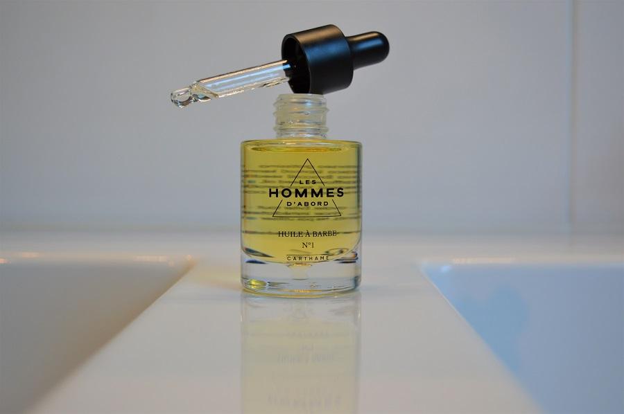 """Huile à Barbe """"Les Hommes d'abord"""" - 26€ - Au principe actif d'huile de carthame"""