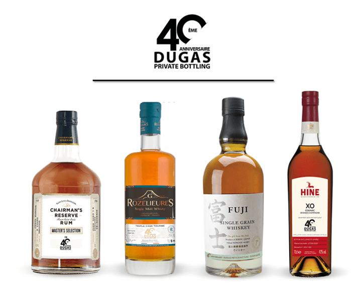 Ma sélection personnelle parmi les spiritueux d'exception présents dans le Private Bottling de la maison Dugas