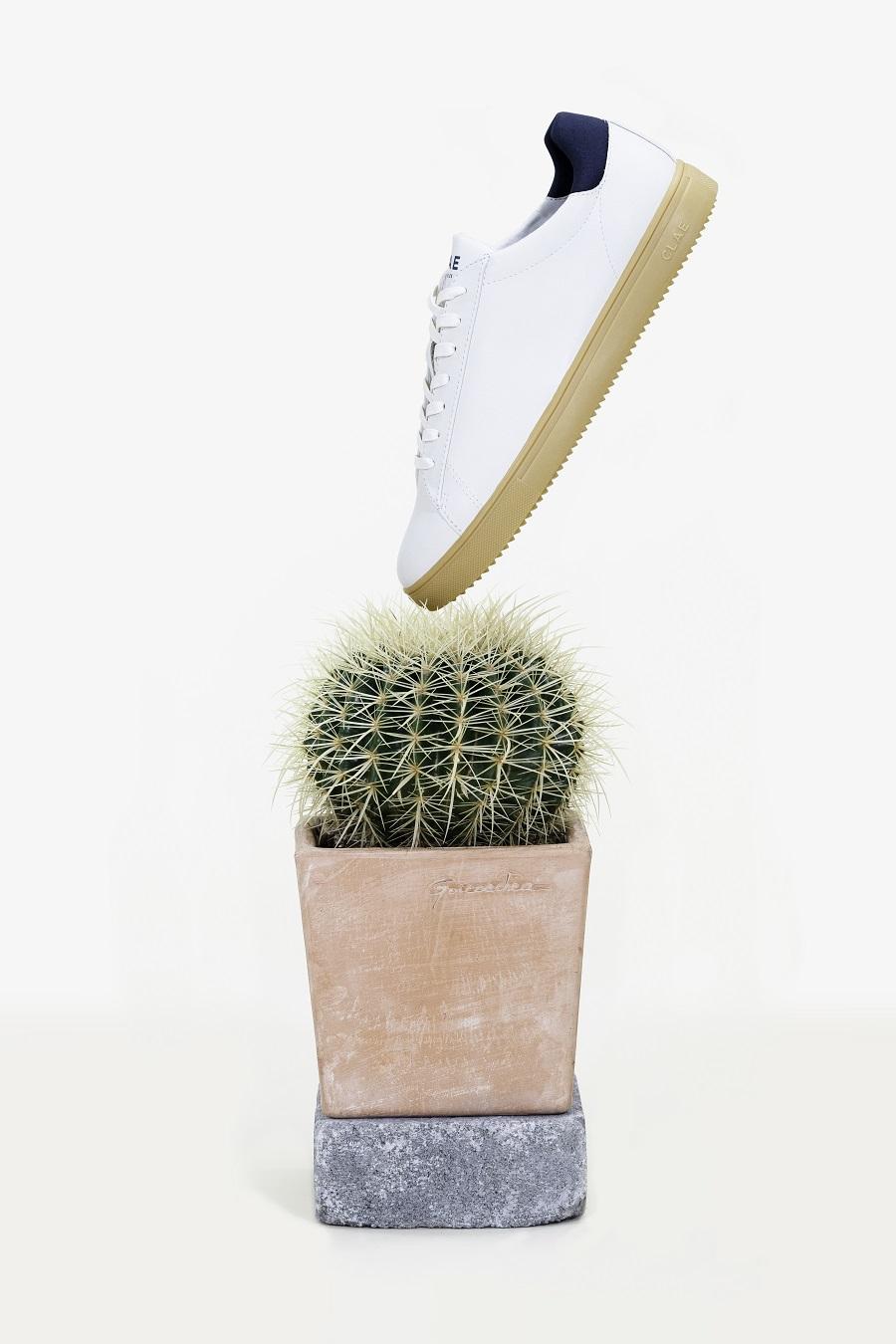 Chaussures en cuir de cactus CLAE