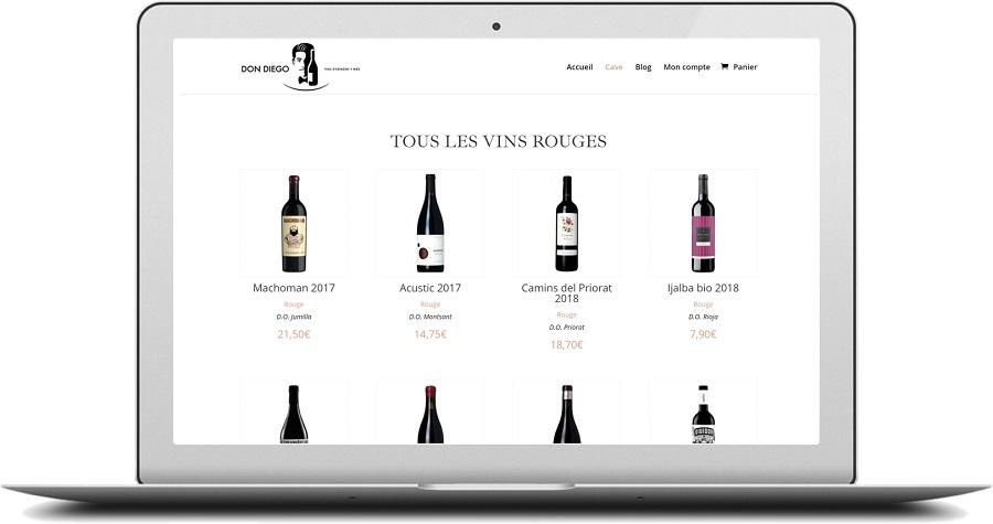 DON DIEGO, Sélection des meilleurs vins d'Espagne